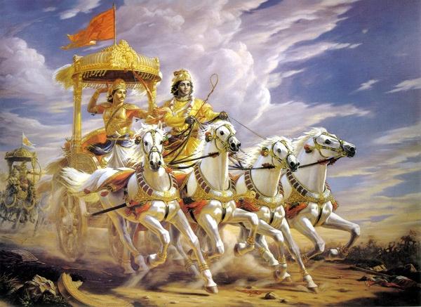 कृष्ण अर्जुन संवाद -मन में उठ रहे हर प्रश्न का उत्तर