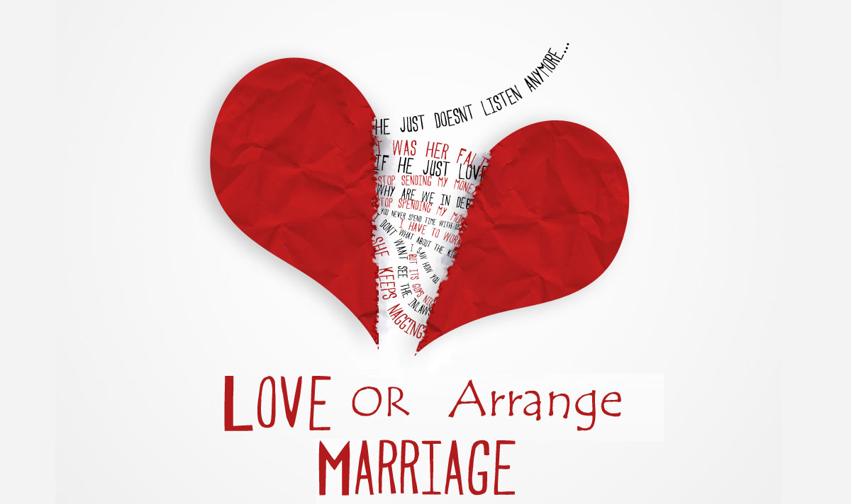 arranged marriage term paper Arranged marriage an arranged marriage is when parents, or the eldest male in the family, choose a spouse for a young boy or girl arranged marriages are practiced all over the world, some countries include iran, iraq, afghanistan, canada and india.